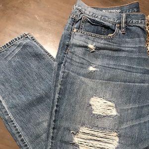 a.n.a Boyfriend Distressed Jeans size 32/14